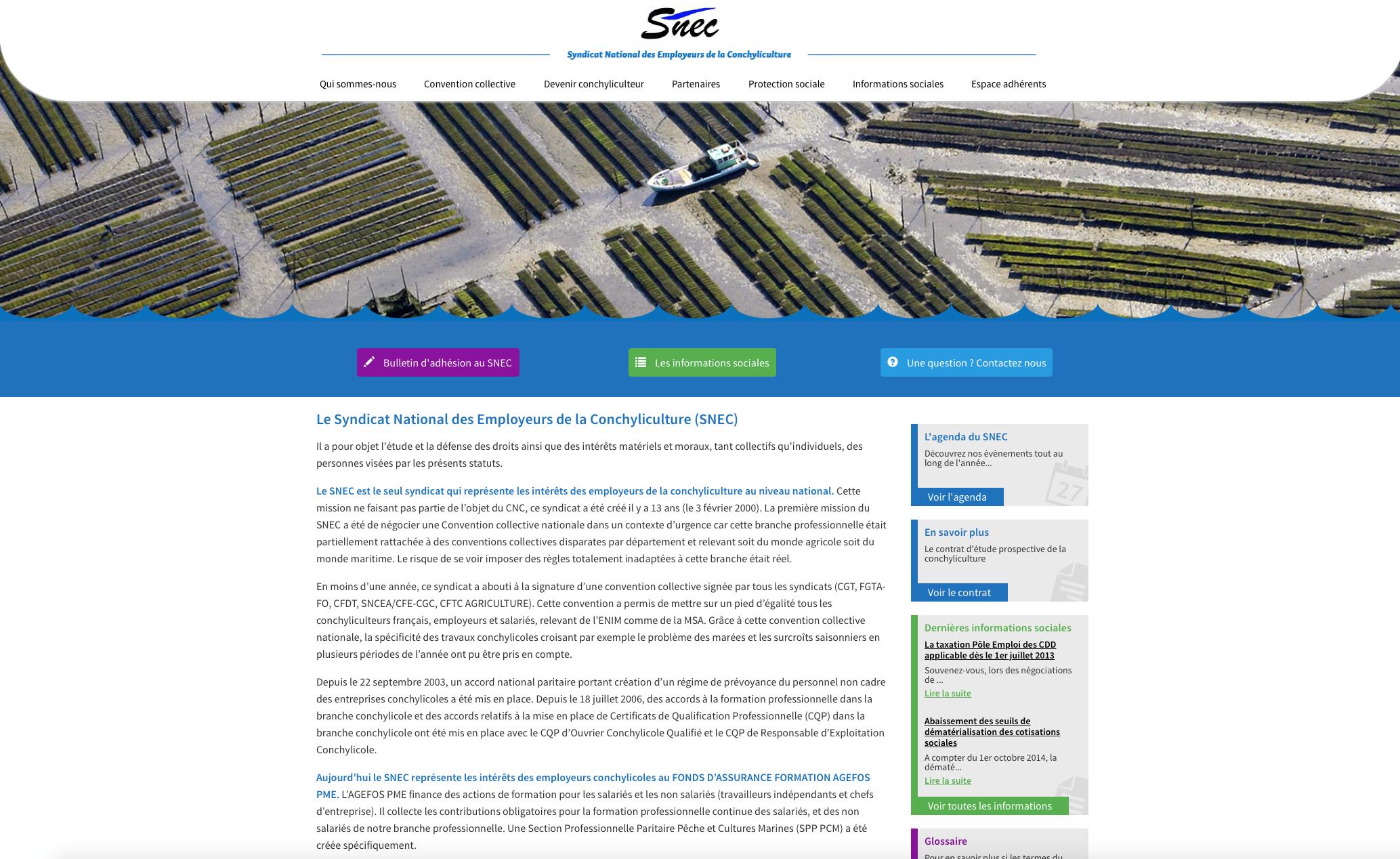 Site Administrable du SNEC
